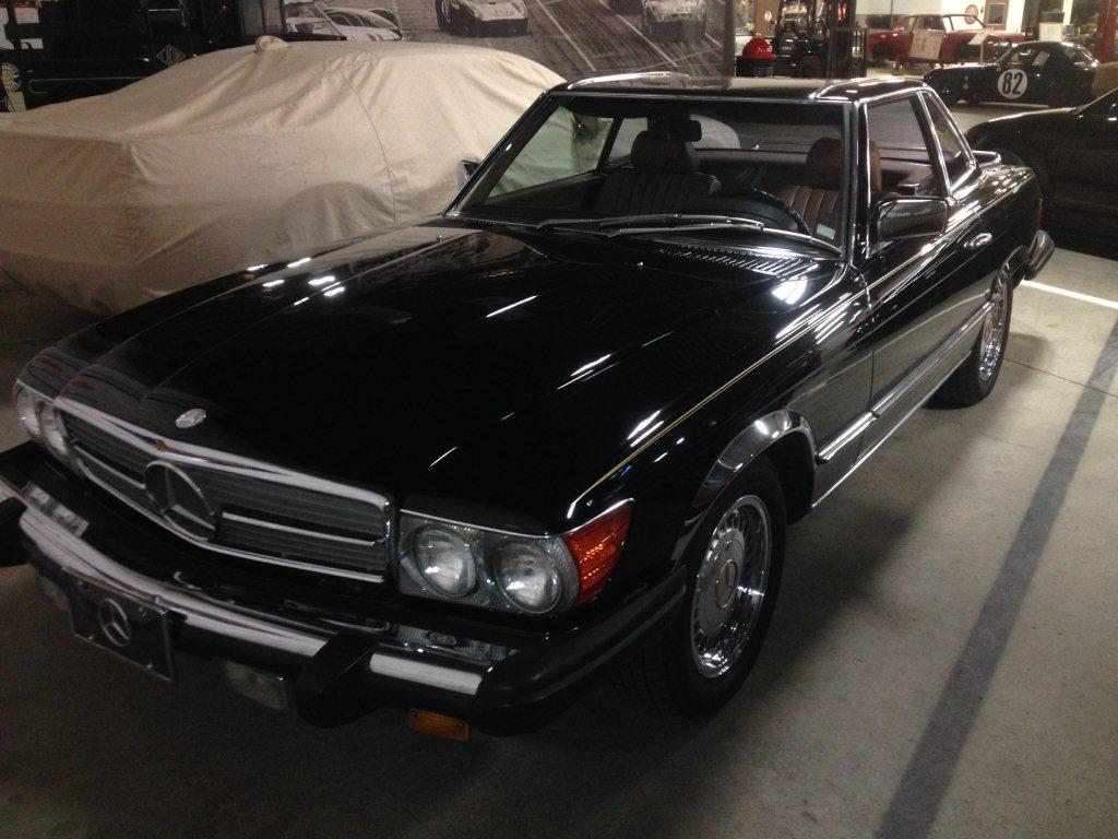Our Cars: Norm Lee's 1985 Mercedes 380SL Coupe thumbnail