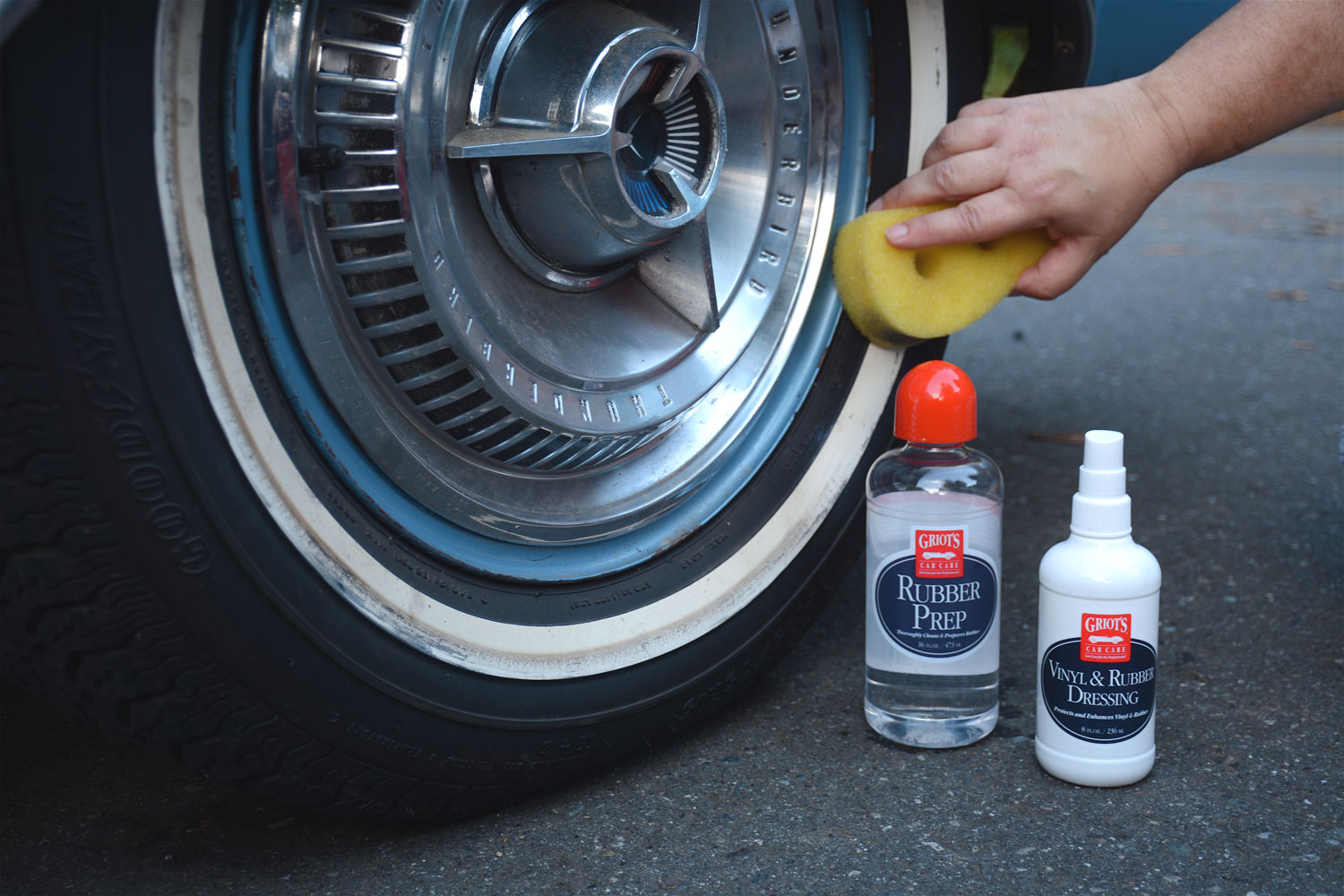 Griot's Car Care Tip: Whitewall tire cleaning thumbnail