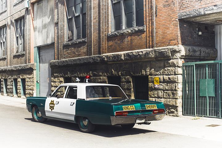 Seattle Metropolitan Police Museum Car