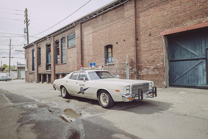 Classic Cop Car