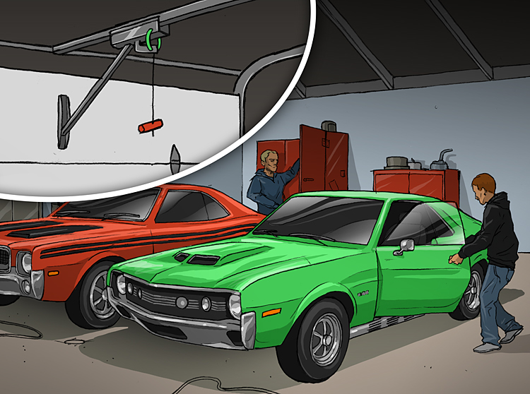 1968 AMC Javelin and 1970 AMC AMX theft
