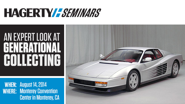 You're Invited To A Free Hagerty Seminar About The Classic Car Market thumbnail