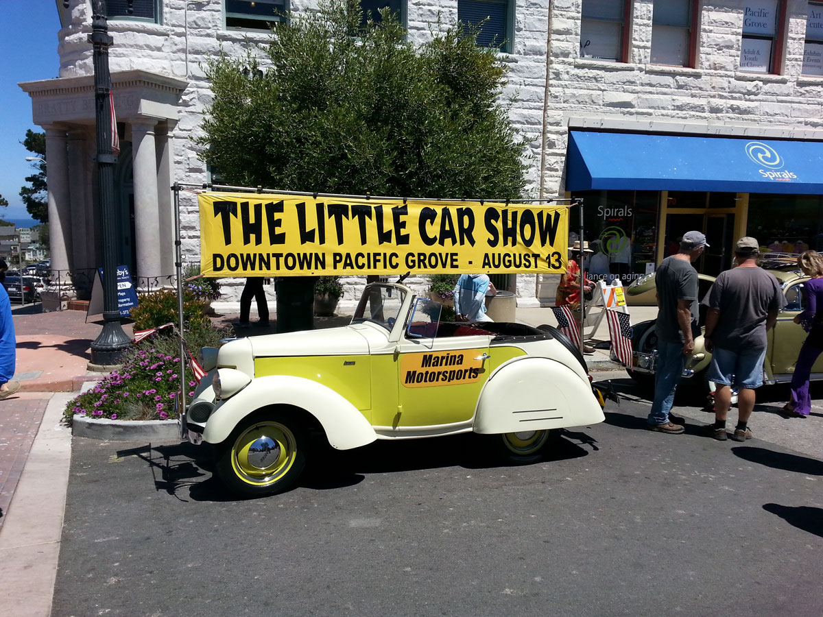 The biggest 'Little Car Show' in Monterey thumbnail