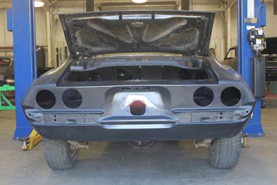 camaro rear panel