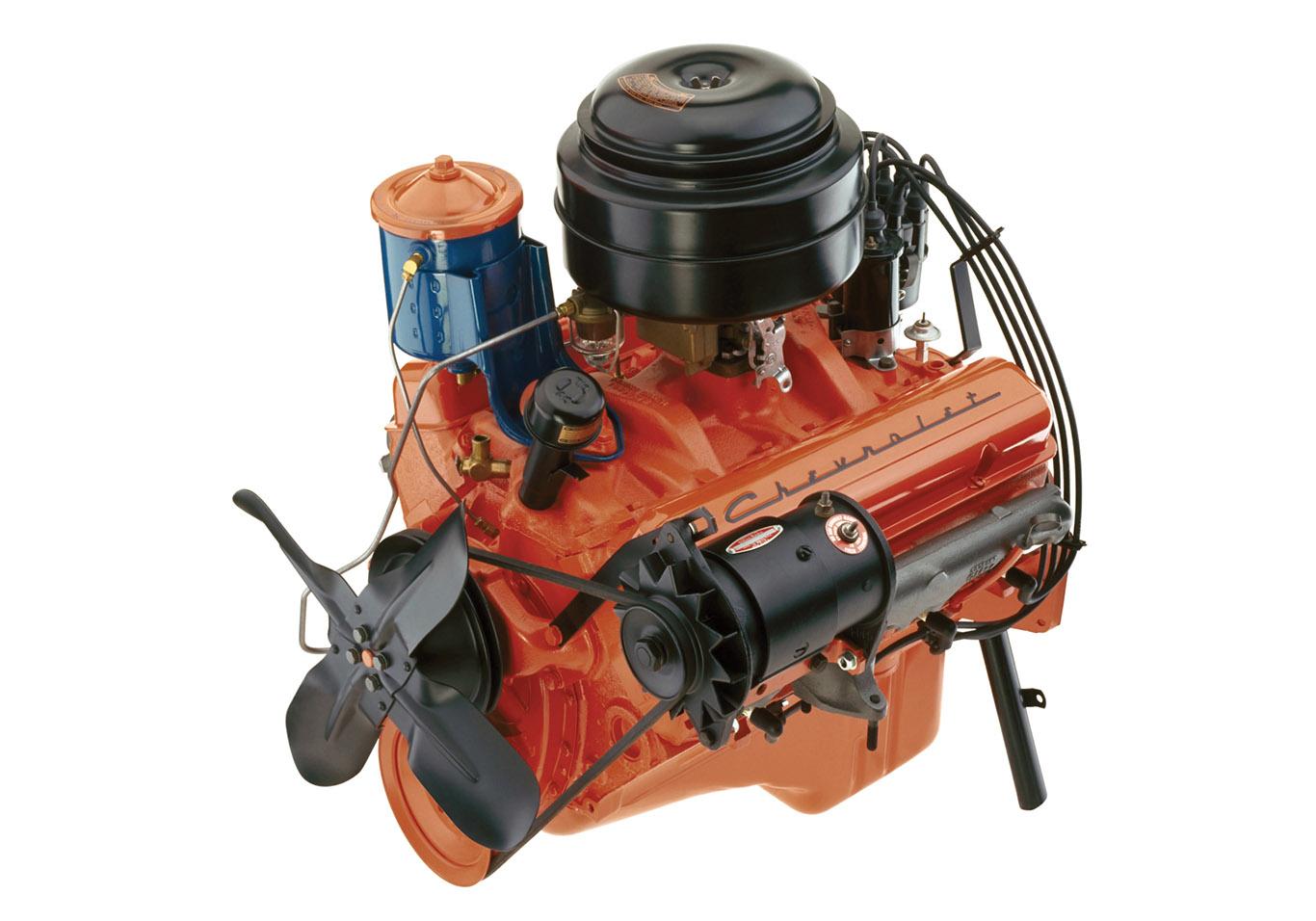 Chevy V8 Engine Diagram