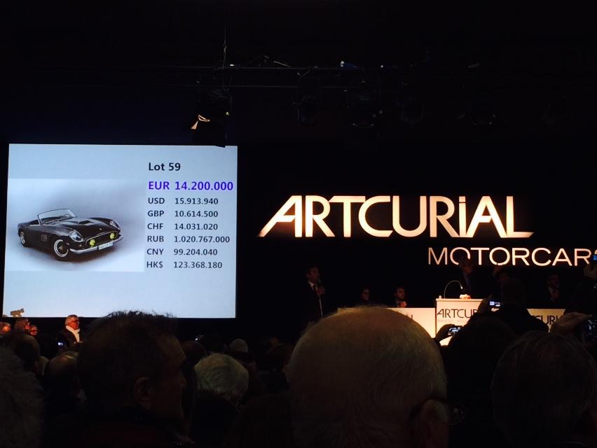 Barn find Ferrari sells for $16M thumbnail