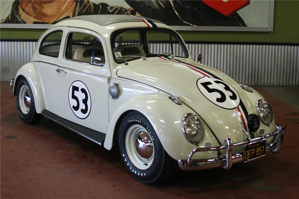 "Authentic ""Herbie the Love Bug"" resurfaces to capture hearts – and $126,500 – at Barrett-Jackson thumbnail"