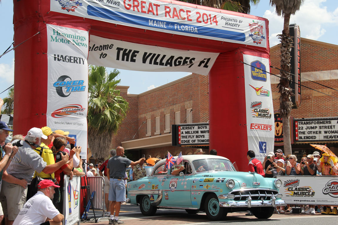 The Great Race: Chevy Bel Air provides rolling family reunion for UK team thumbnail
