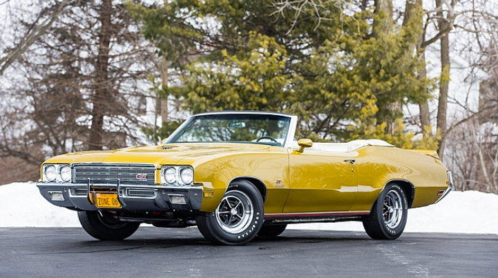 Classic Classified: 1971 Buick GS Stage 1 Convertible thumbnail