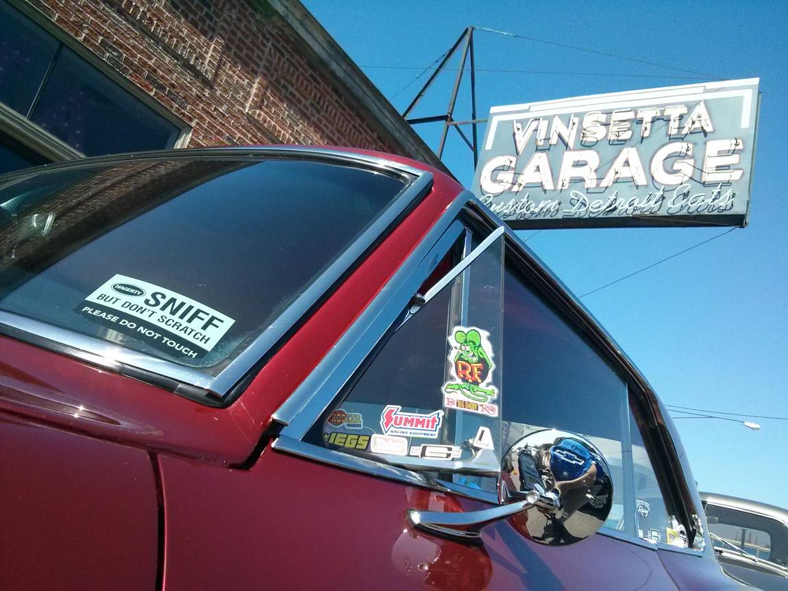 Vinsetta Garage on Woodward