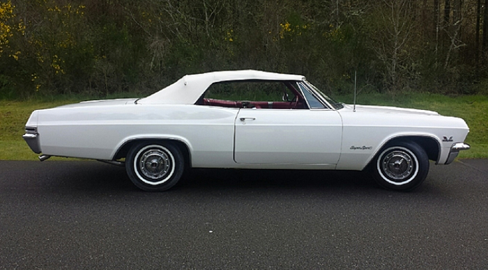 Classic Classified: 1965 Chevrolet Impala SS 396 thumbnail