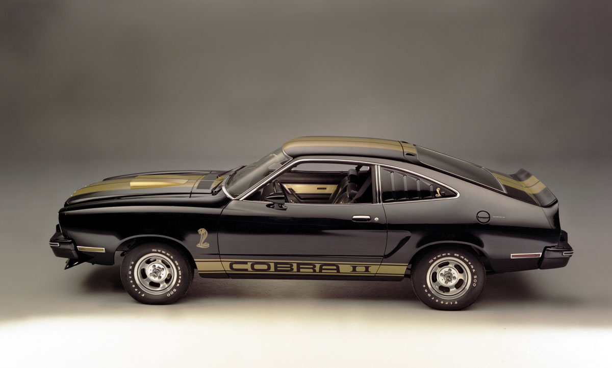 No, the Ford Mustang II is not a re-skinned Pinto thumbnail