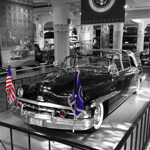 Harry S. Truman's 1950 Lincoln Presidential Limousine