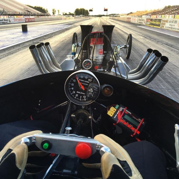View from the driver seat