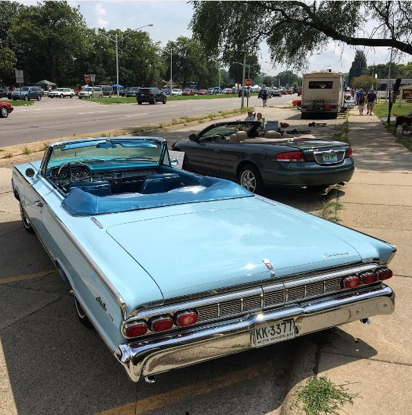 1964 Mercury Park Lane convertible