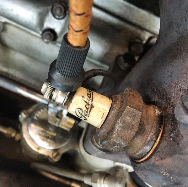 1925 Packard spark plug
