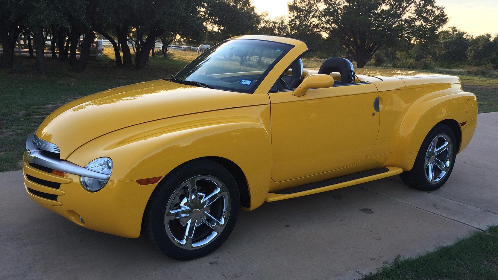 Chevrolet SSR was a pickup/hot rod mashup thumbnail