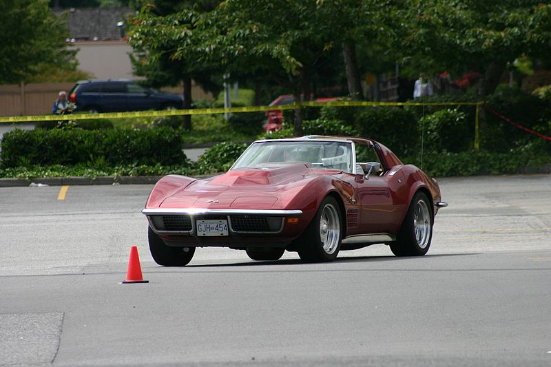 1970 Corvette Autocrossing