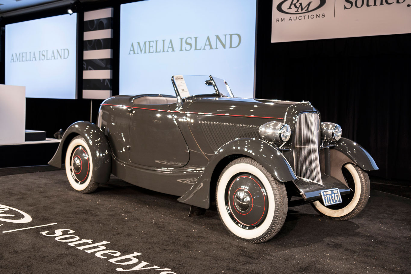 Edsel Ford '32 Speedster sells for $770,000 at RM Sotheby's thumbnail