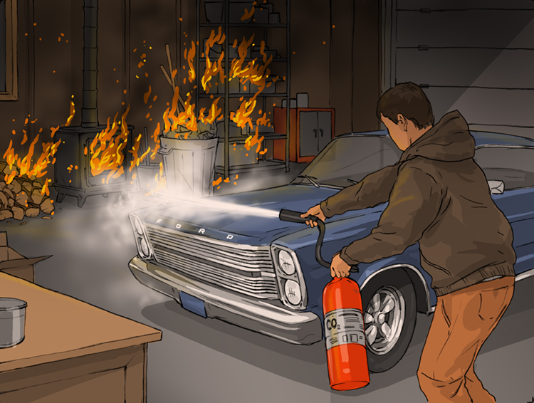 Losses and Lessons: '66 Ford Galaxie burns rubber – along with everything else thumbnail