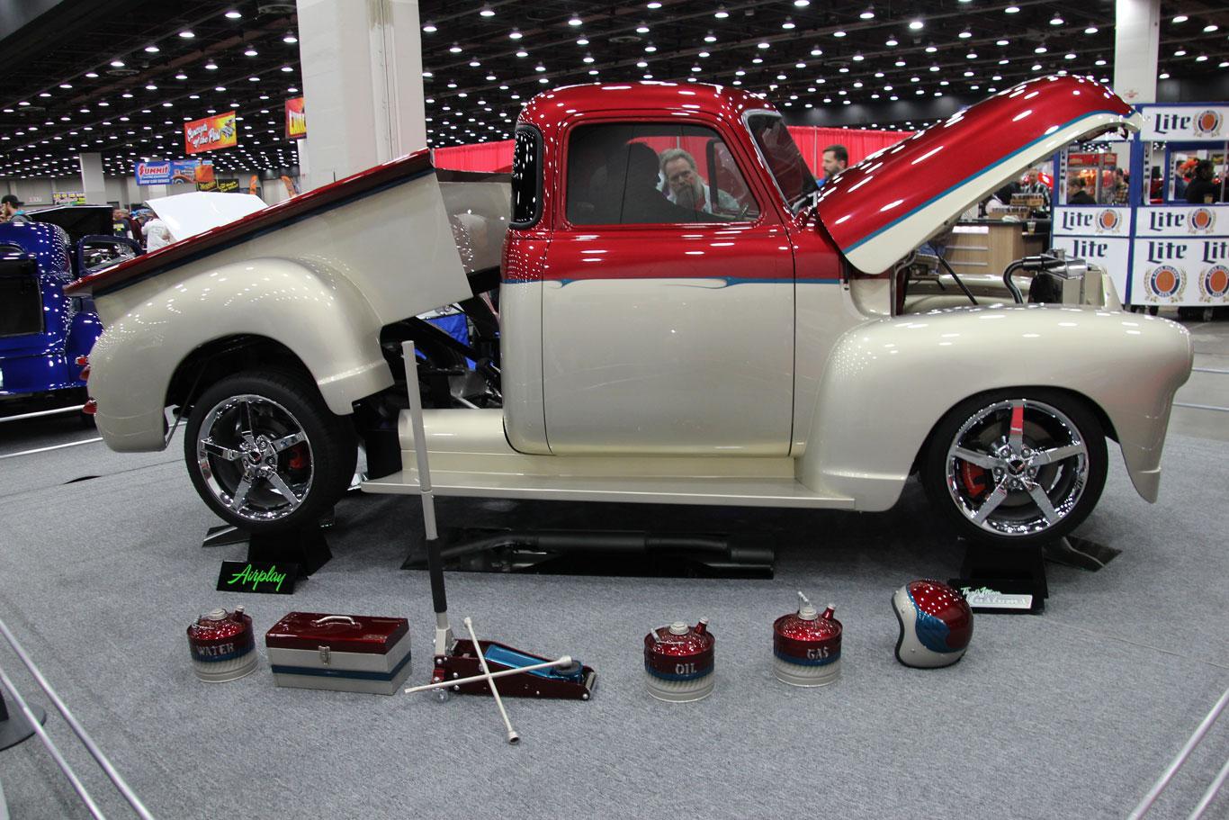 1951 Chevrolet 3100 five-window
