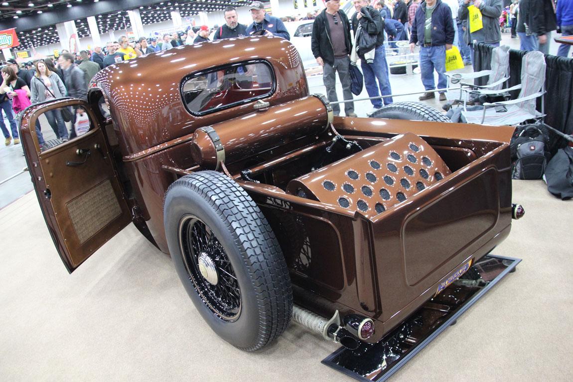 The Brass Monkey a 1939 Chevrolet custom pickup