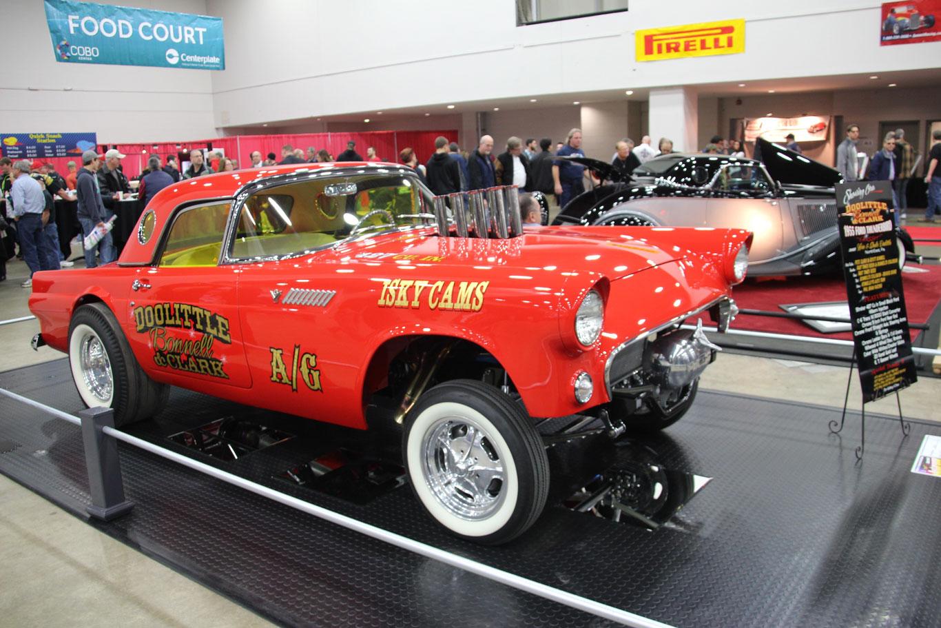 '55 Ford Thunderbird Gasser