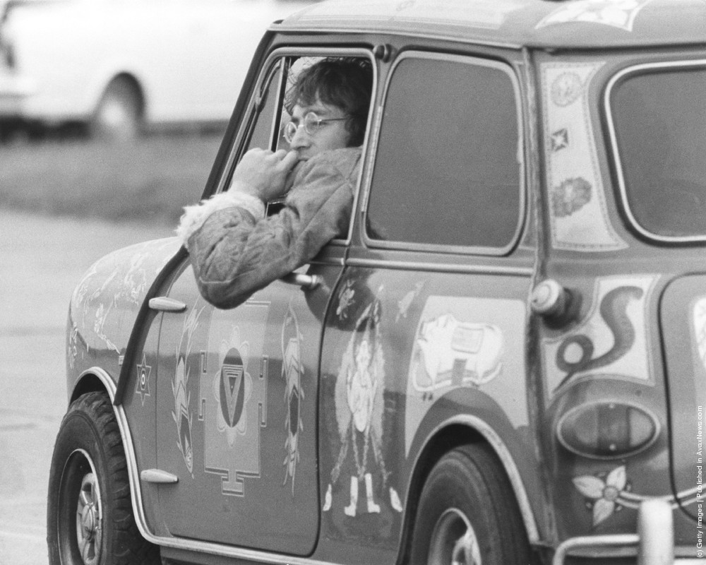 George Harrison's psychedelic Mini made a big impression thumbnail