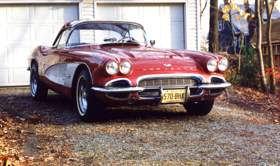 Ask the man who owns one: A 48-year journey with a 1961 Corvette thumbnail