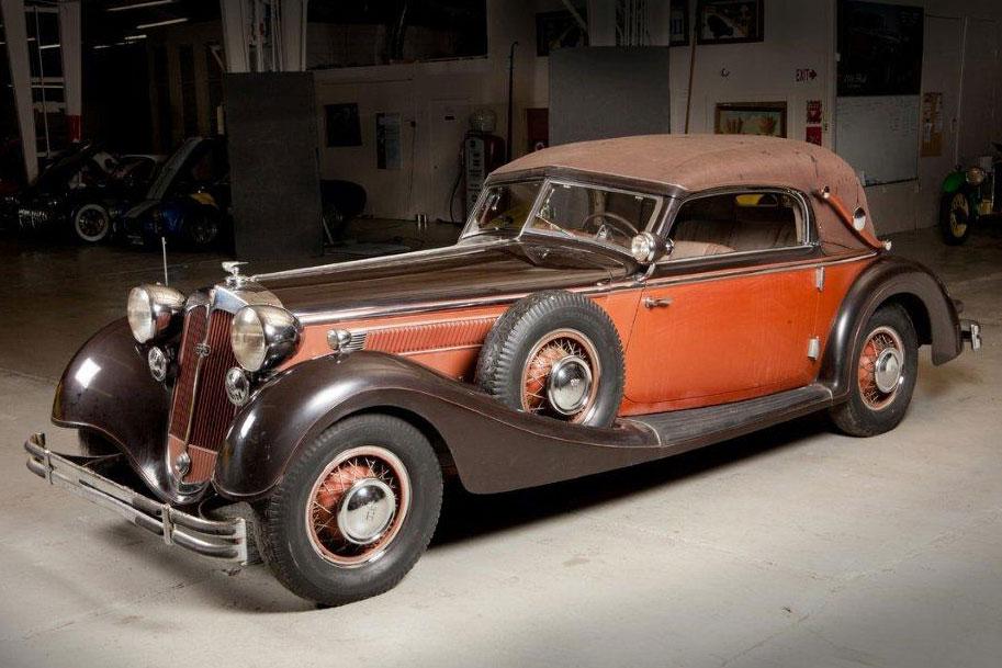 Unrestorable When history comes knocking Two Nazi-era Horch 853 Cabriolets & American Graffiti - Movie Cars   Hagerty Articles markmcfarlin.com