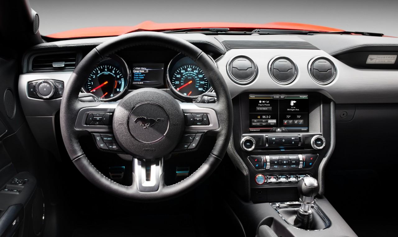 2015 Mustang Interior