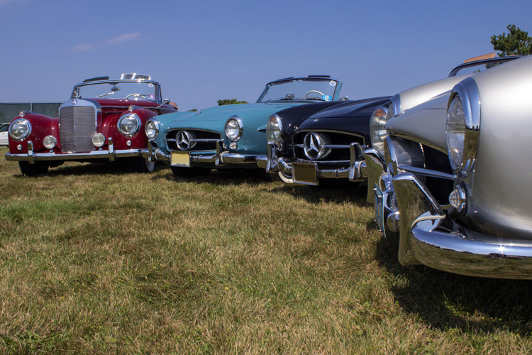 Mercedes-Benz bumpers