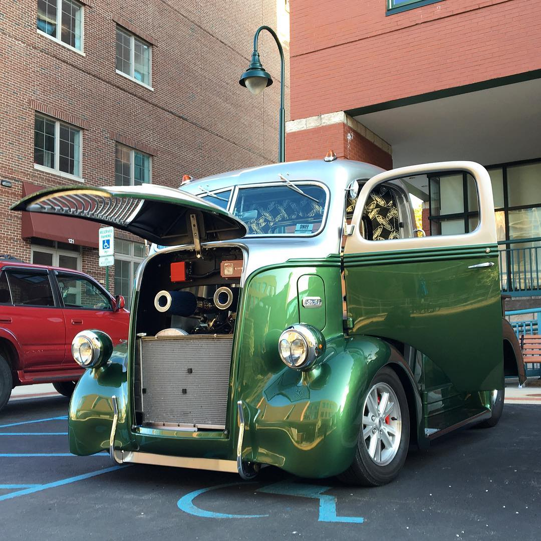 1947 Ford cabover truck