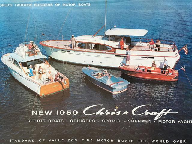 Fiberglass Chris-Craft - 1969 Chris-Craft 25-foot Lancer   Hagerty