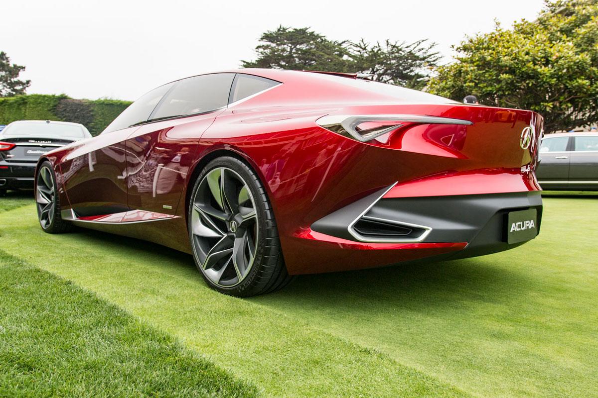 Pebble Beach also looks forward via concept cars on the lawn thumbnail