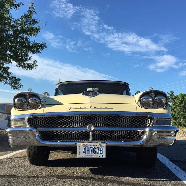 1958 Ford Fairlane Club Sedan