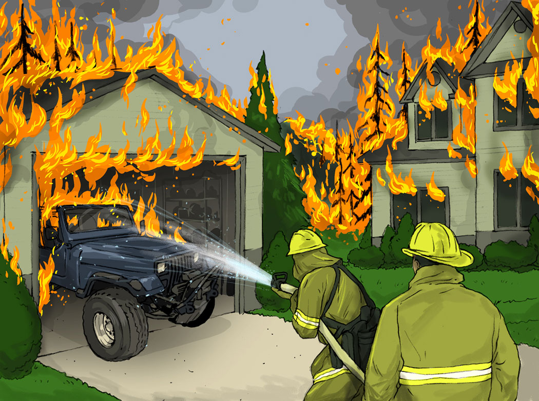 Losses and Lessons: Wildfire consumes '79 Jeep thumbnail