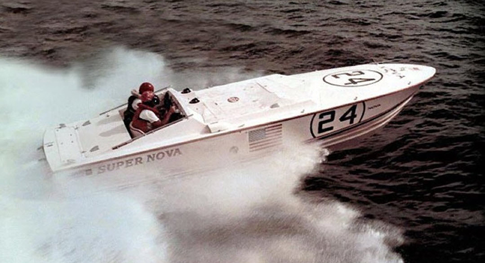 This twin-engine prototype launched the Nova Marine boat company thumbnail
