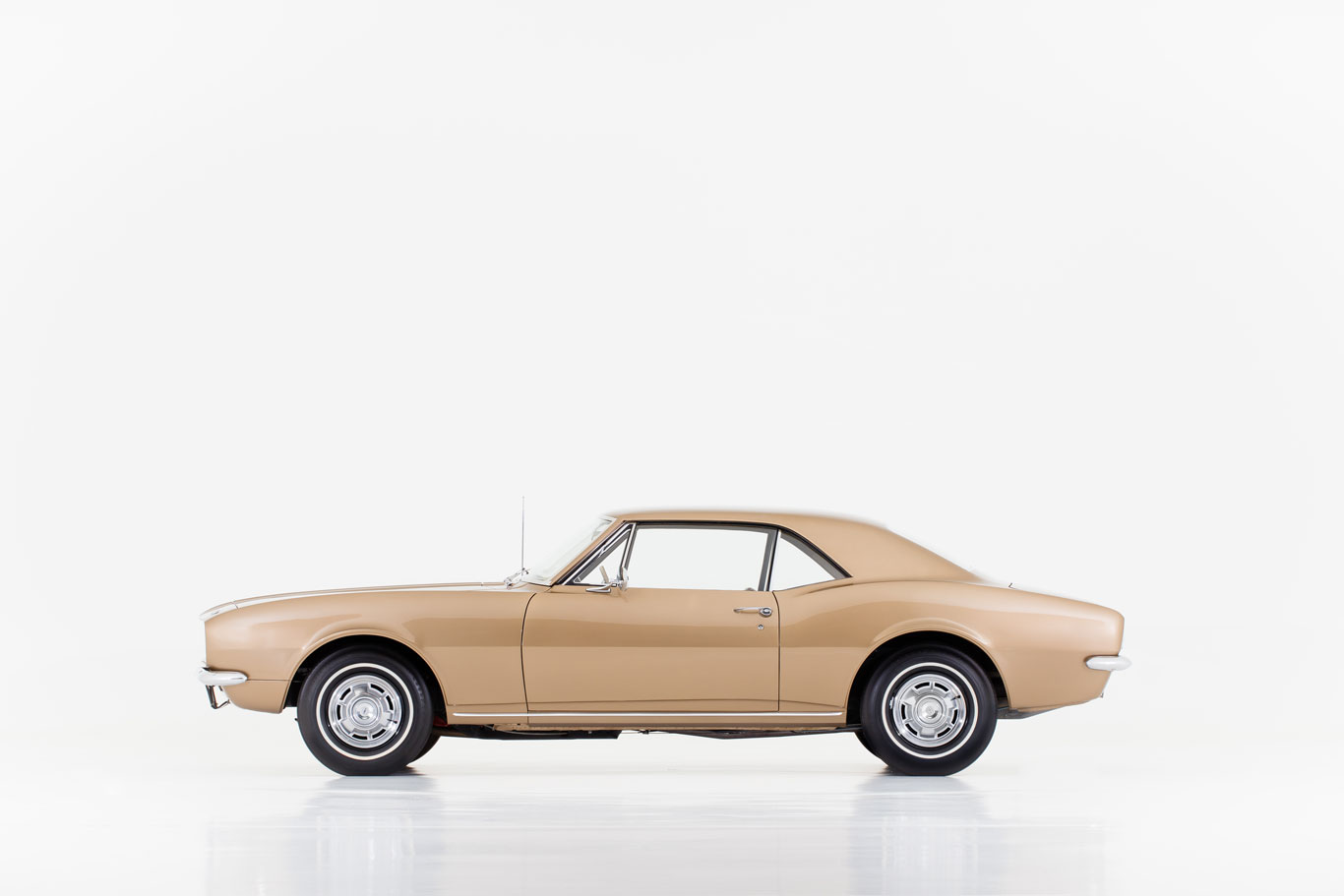 High-resolution photos of the first 1967 Camaro built were taken as part of the documentation process in which the car was added to the National Historic Vehicle Register.