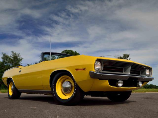 The 1967–69 Plymouth Barracuda is a surprisingly affordable
