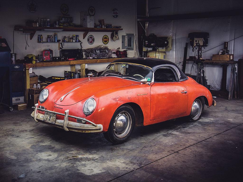 Awoken from its long slumber, '57 Porsche 356A heads from garage to auction thumbnail