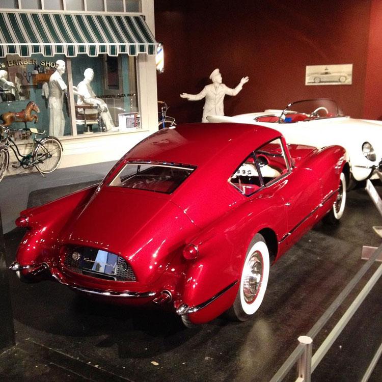 1954 Chevy Corvette Corvair concept