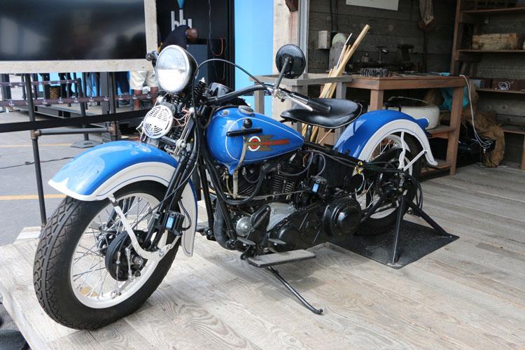 "1936 Harley-Davidson EL ""Knucklehead"""