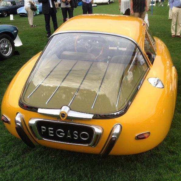 1952 Pegaso Z-102 Cupula Coupe
