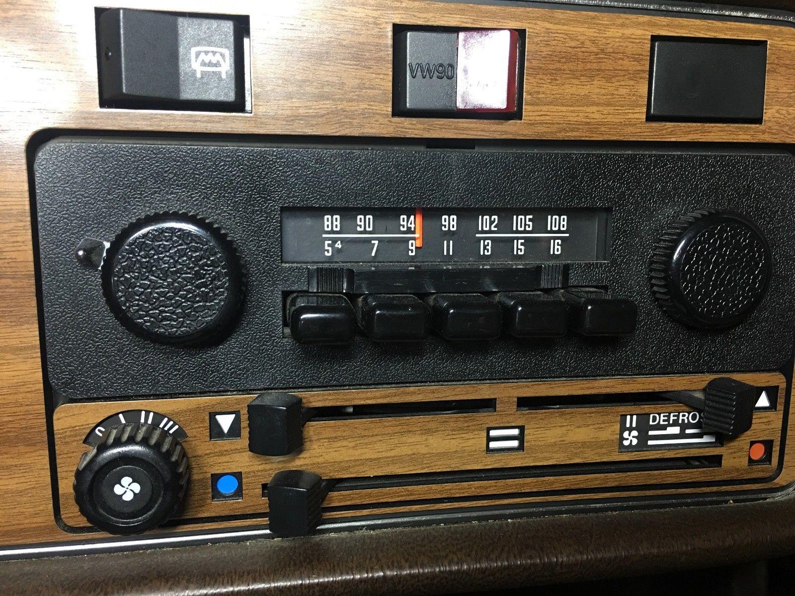 1978 Volkswagen Scirocco radio