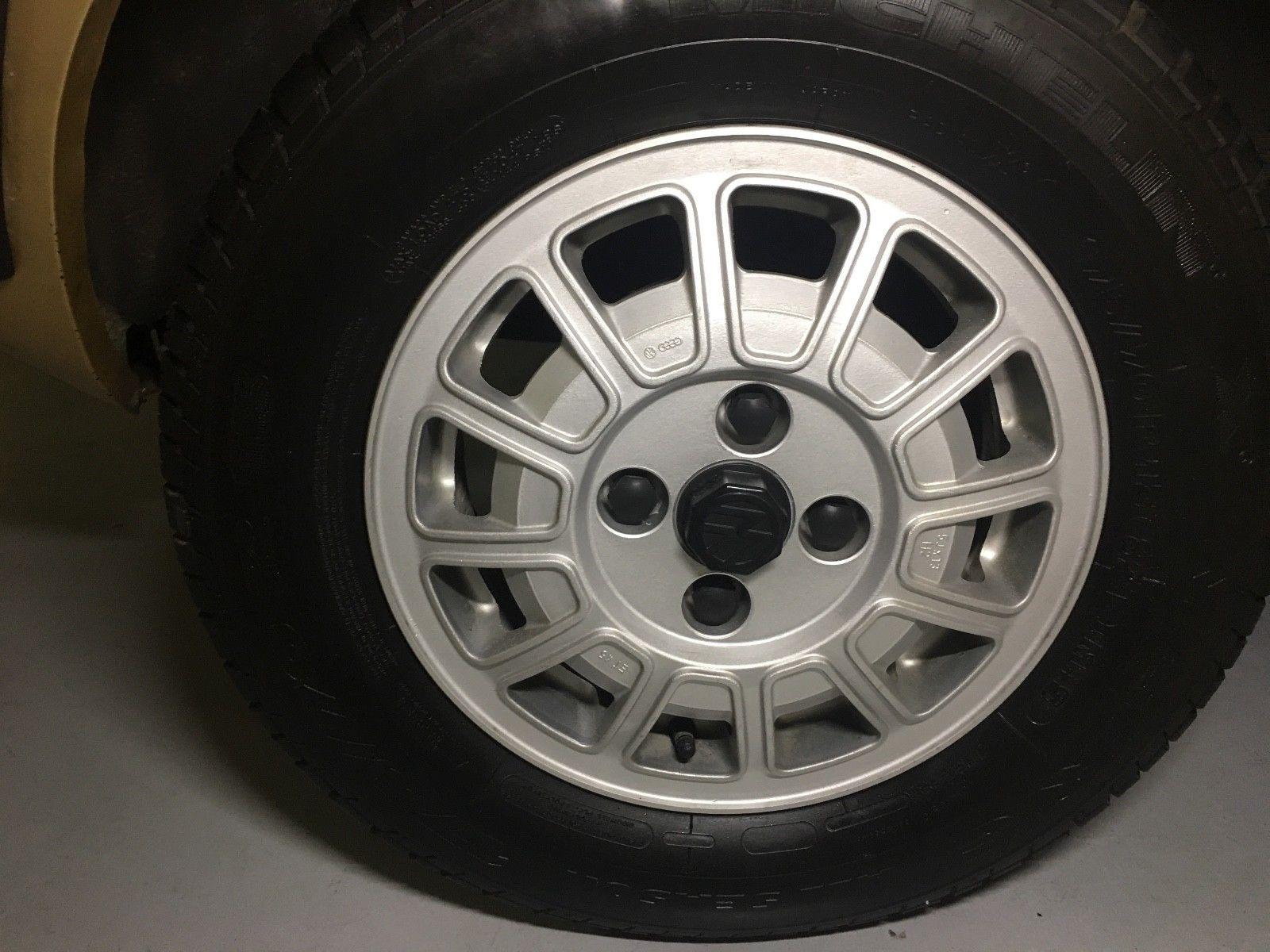 1978 Volkswagen Scirocco wheel