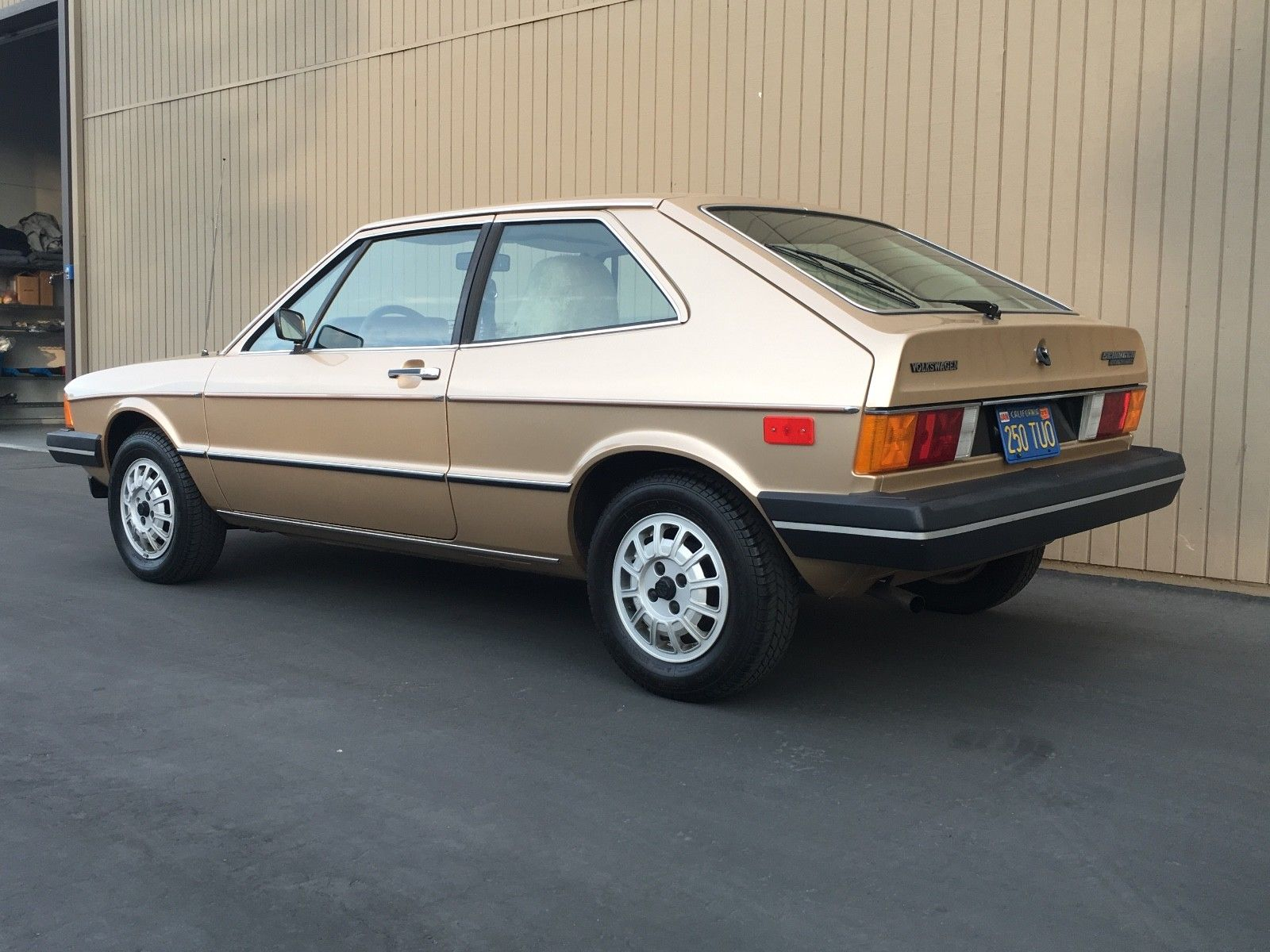 1978 Volkswagen Scirocco rear three quarter