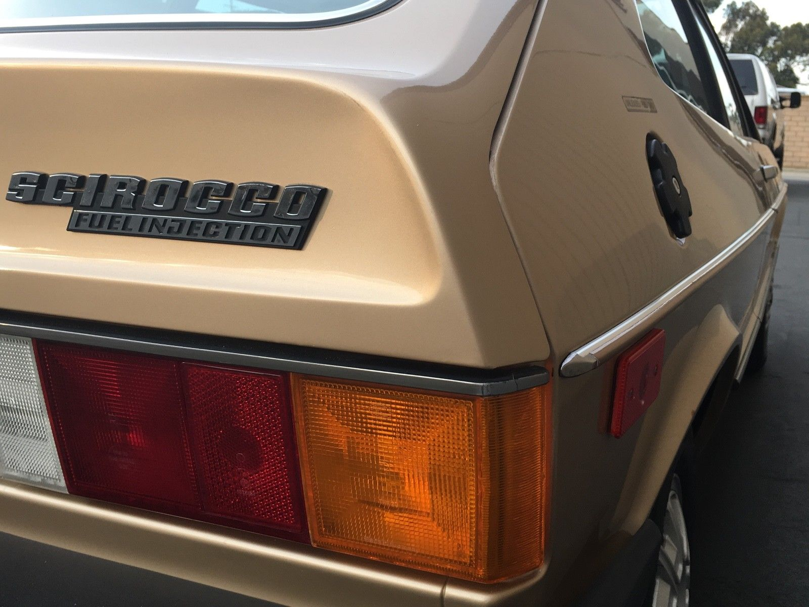 1978 Volkswagen Scirocco rear badge