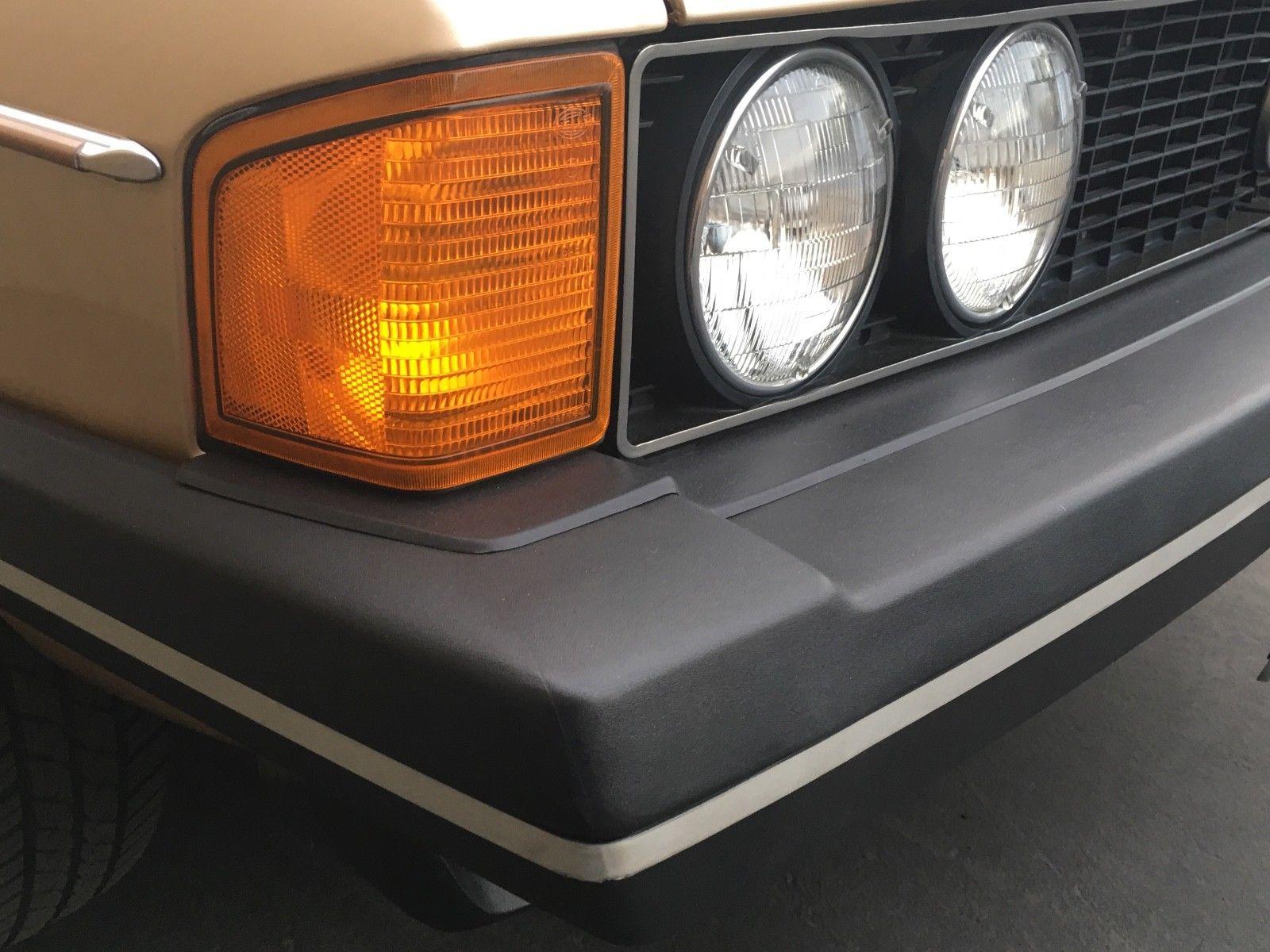 1978 Volkswagen Scirocco headlights