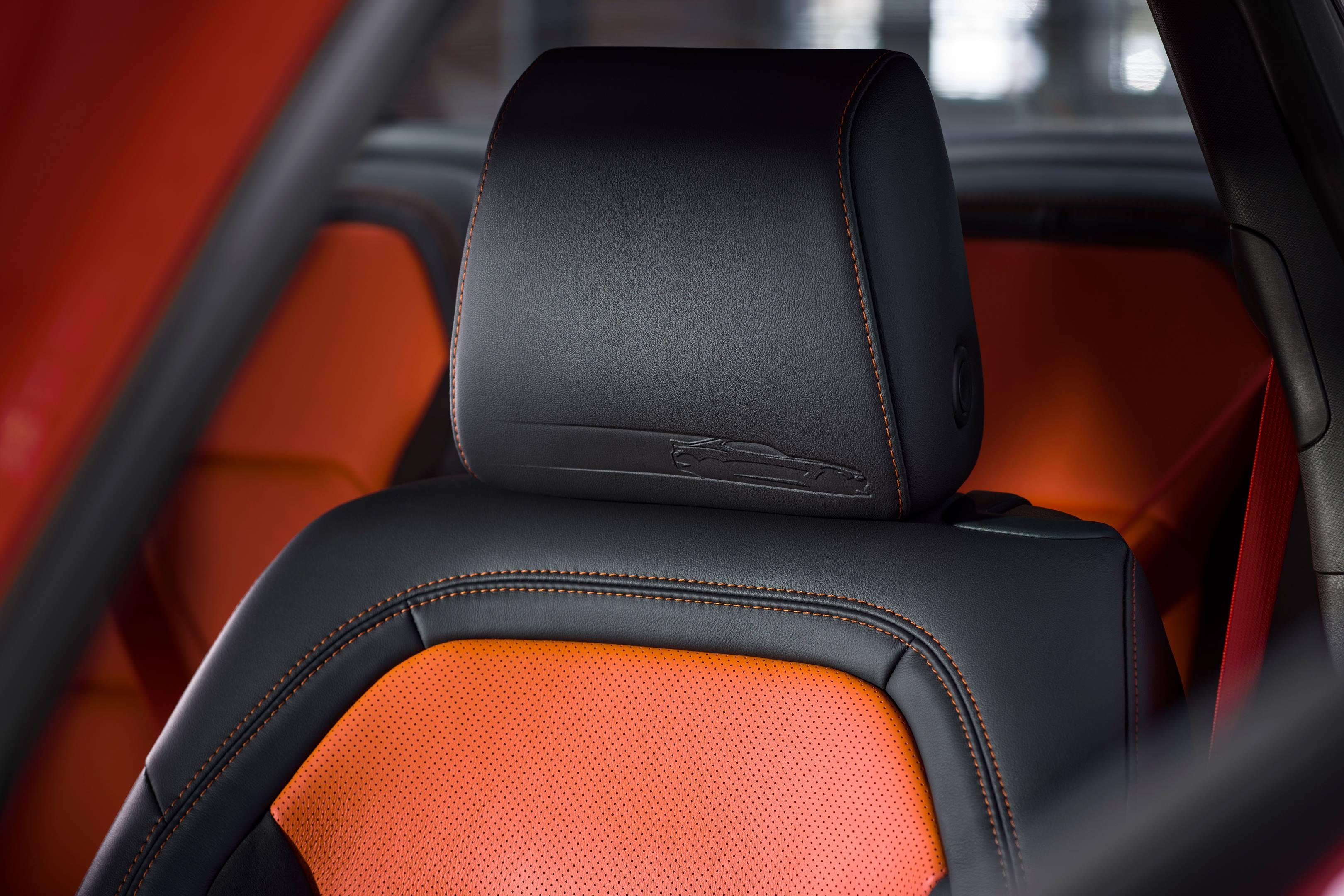 2017 SEMA Chevrolet Hot Wheels Camaro seat detail